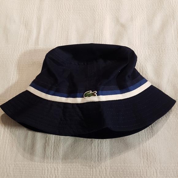 Lacoste boys bucket hat 2-5 years